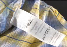 Cloth Laundry Tag