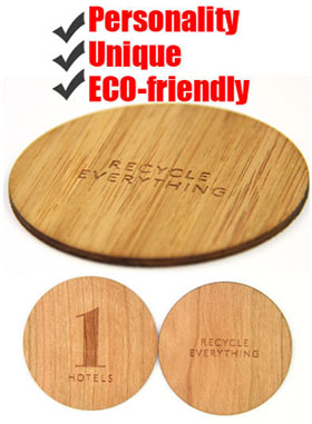 wood card with rfid